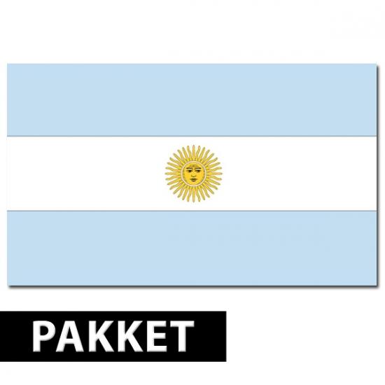 Argentinie feest thema decoratie