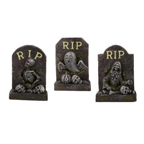 Halloween Decoratie Mini Grafsteen Rip Capshopper kopen