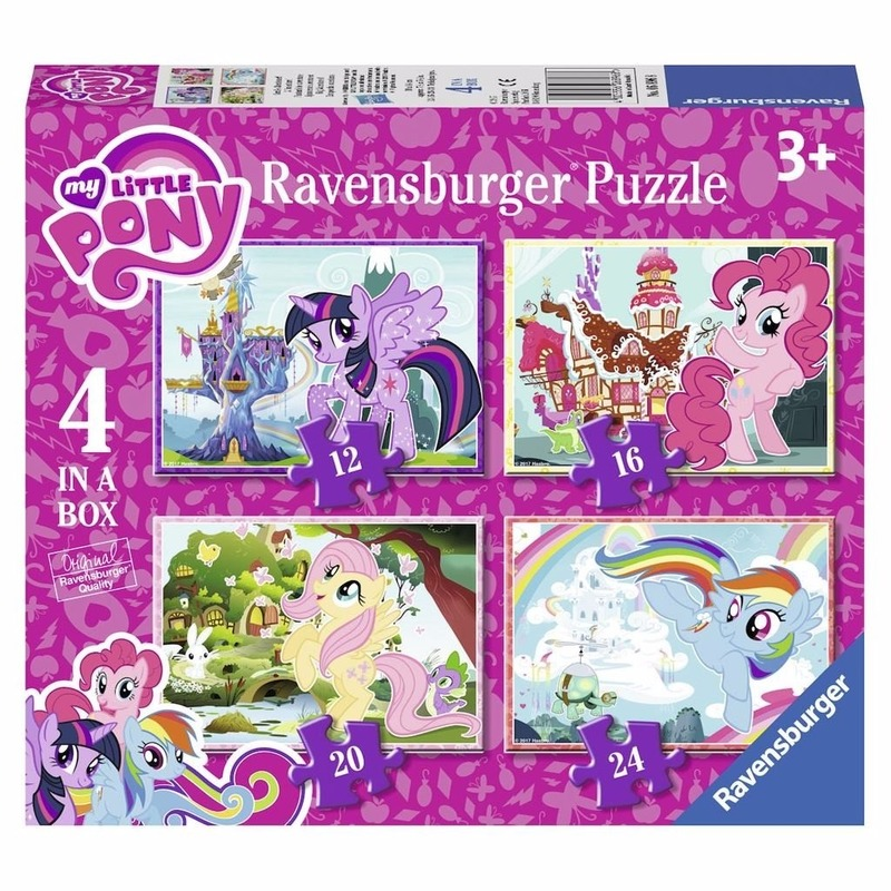 My Little Pony puzzel 4 in 1