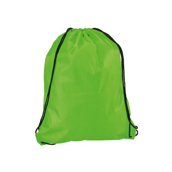 Neon Groene Gymtas Met Rijgkoord Capshopper kopen