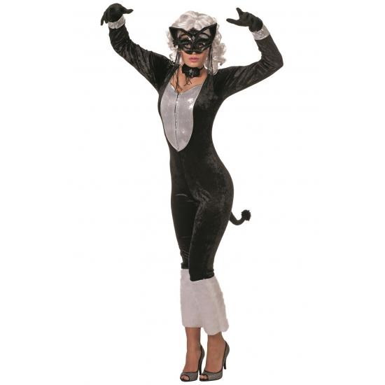 Dames kostuum alley cat. katten catsuit voor dames. exclusief accessoires, ook zonder de staart.