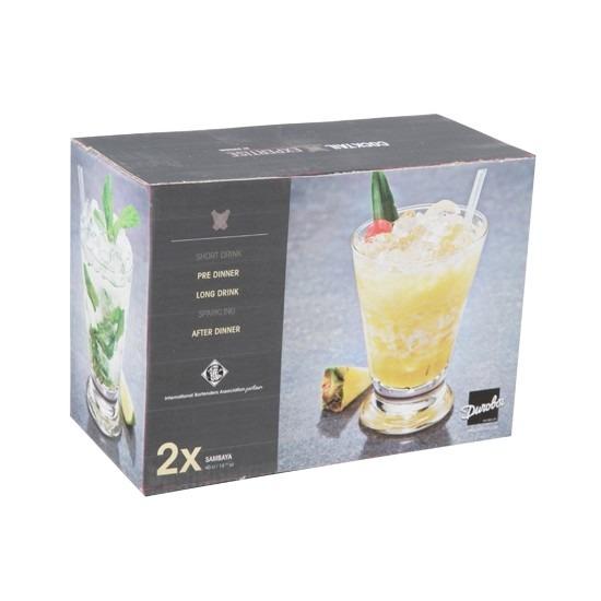 2x luxe cocktailglazen 400 ml