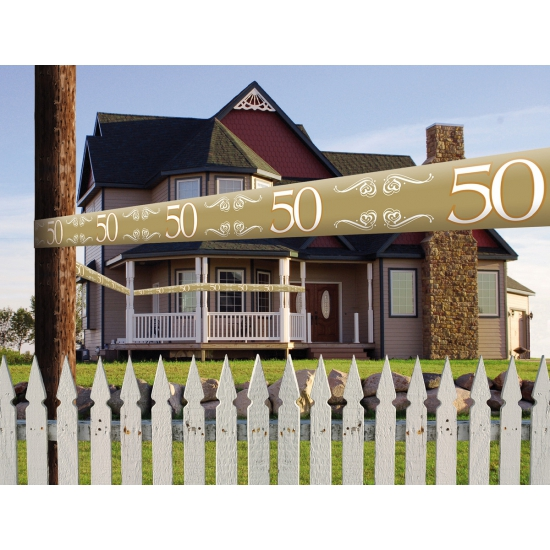 50 jaar jubileum decoratie lint
