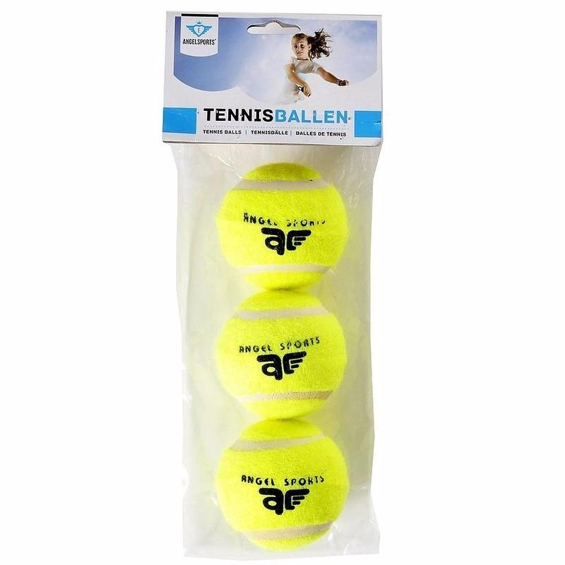 6x Speelgoed tennisballen voor honden