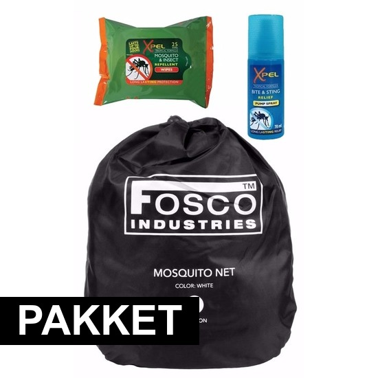 Xpel Anti muggen backpack pakket Tuin artikelen