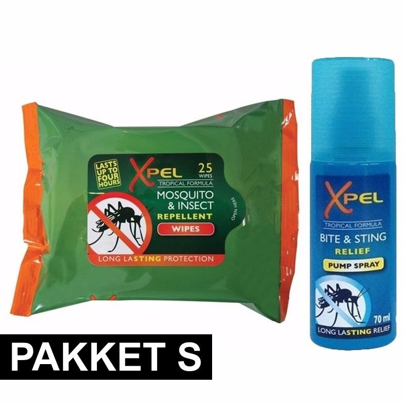 Anti muggen pakket small Xpel Tuin artikelen