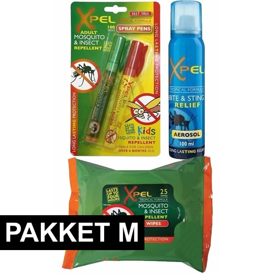 €1860000 Sparen Xpel Anti muggen preventie en behandel pakket medium