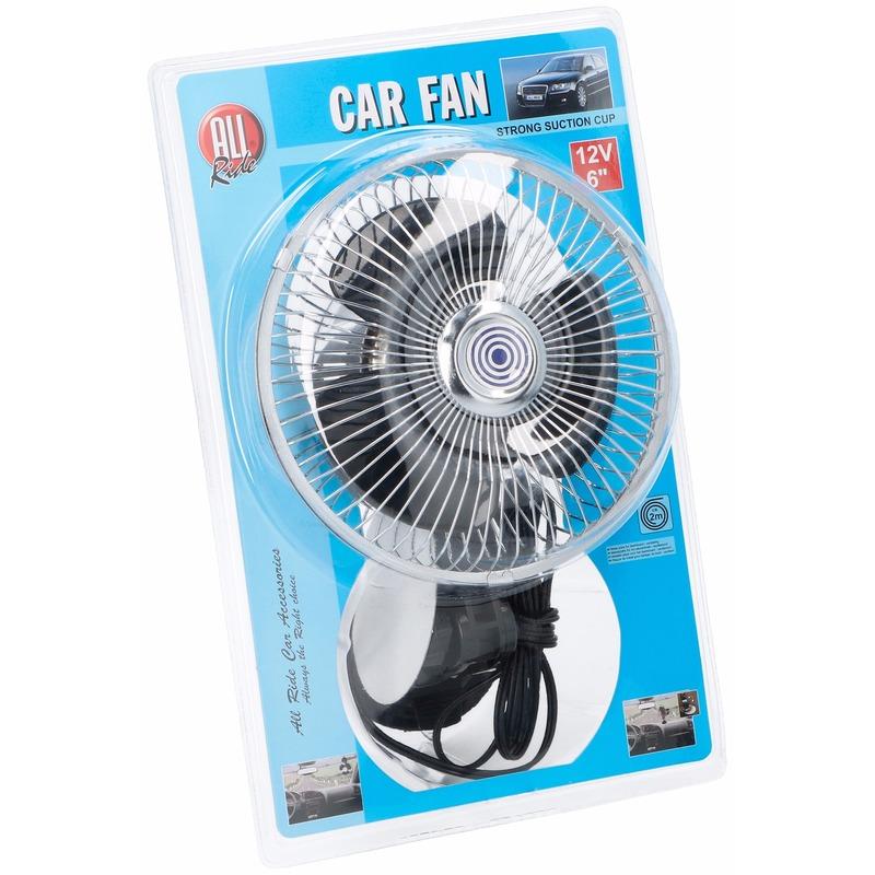 Woonaccessoires Auto ventilator 12V met zuignap