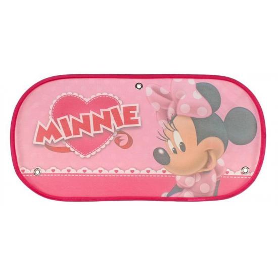 Auto zonnescherm Minnie Mouse roze Disney Hoge kwaliteit