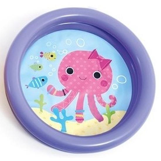 Baby-kinder opblaas zwembad paars 61 cm