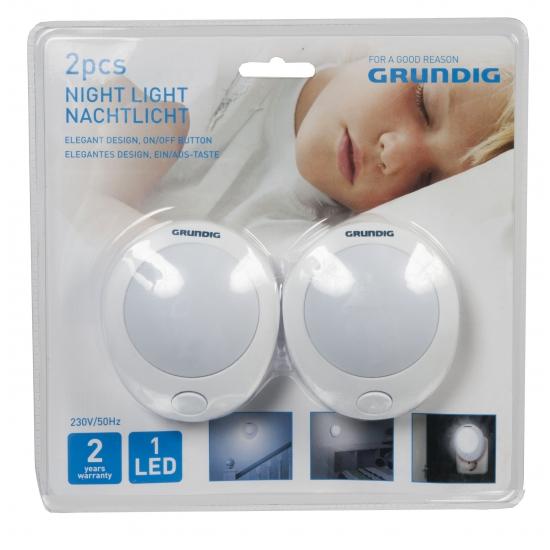 Babykamer nachtlampjes 2 stuks