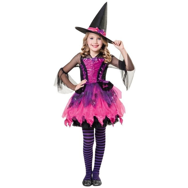 Barbie heksen kostuum voor meisjes