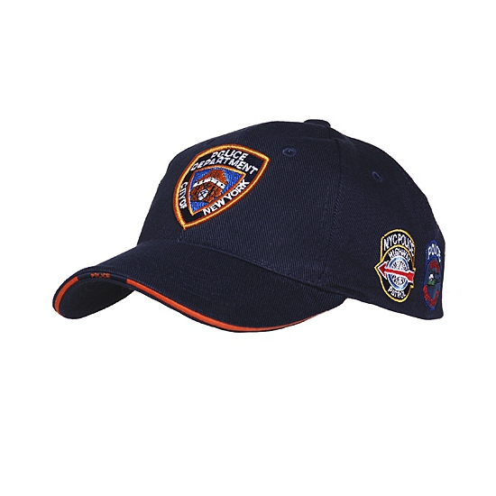 8150b0da5fef7 Baseball cap NYPD. New york police department pet donkerblauw. donkerblauwe  pet voor volwassenen met nypd patches. 100