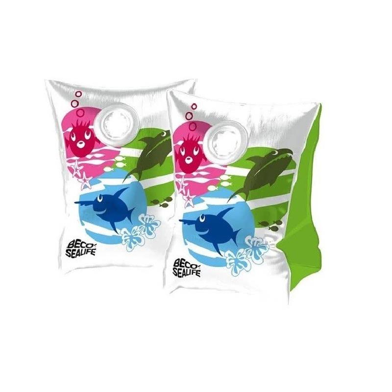 Beco vissen print zwembandjes maat 0 15-30 kg