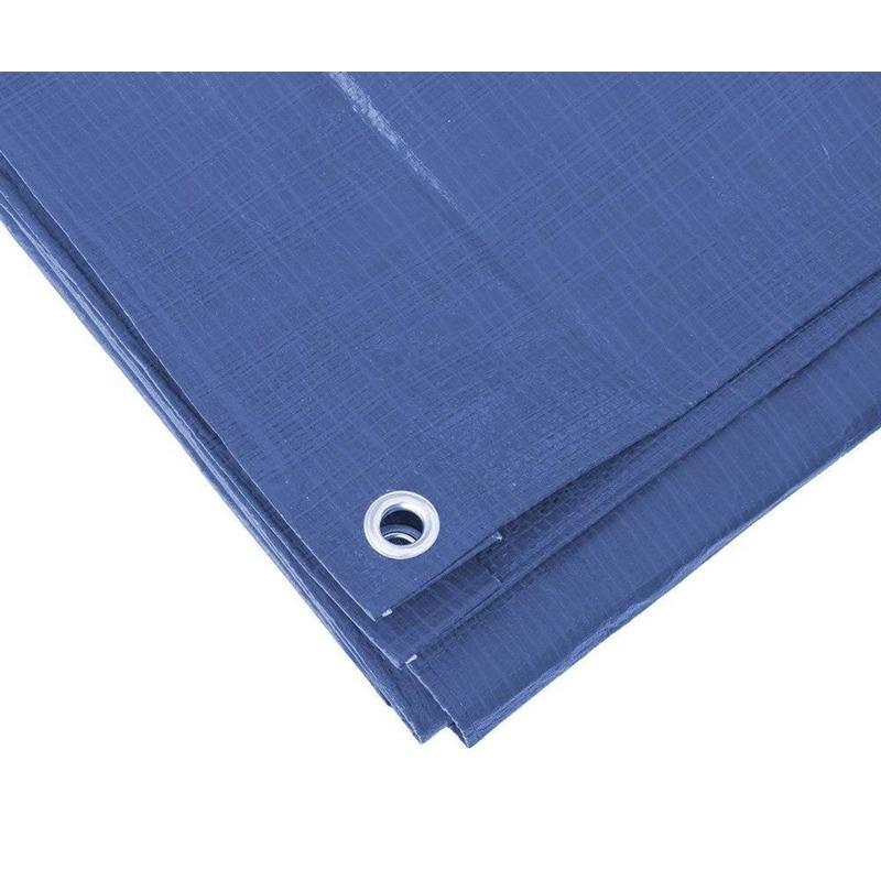 Blauw afdekzeil-dekzeil 3 x 5 meter