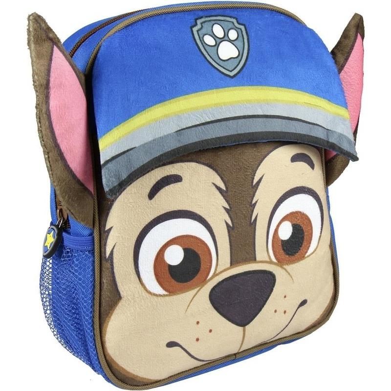Blauwe Paw Patrol rugtas-rugzak Chase 23 x 28 cm voor jongens