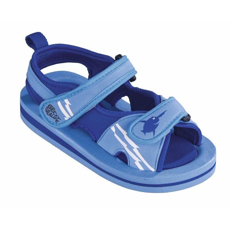 Blauwe watersandalen-waterschoenen voor baby-peuter