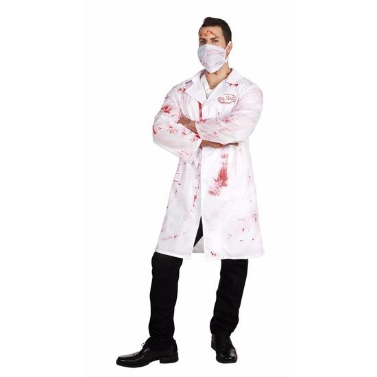 Bloederige arts Dr. Mad kostuum voor heren