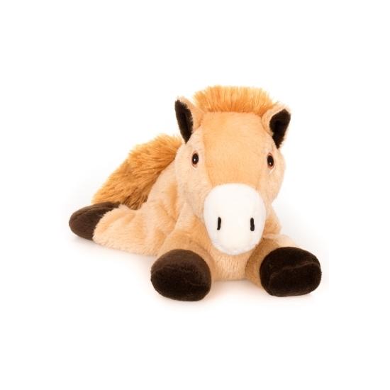Capshopper Magnetron knuffels|Bruin paarden knuffel kruik geboorteknuffel 18 cm
