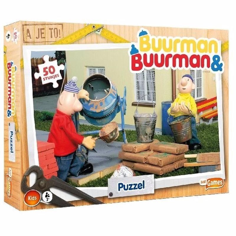 Buurman en Buurman puzzel 50 stukjes