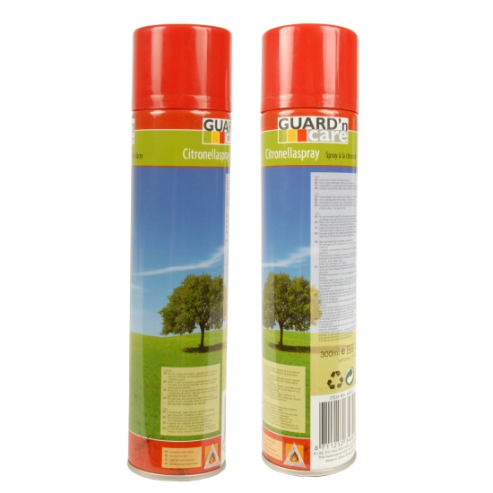 Citronella anti muggen spray 300 ml Guard and Care Geweldig