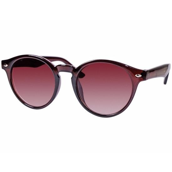 3d183f5f84a88d Ronde clubmaster dames zonnebril bruin model 7001. een trendy dames  zonnebril met ronde glazen.