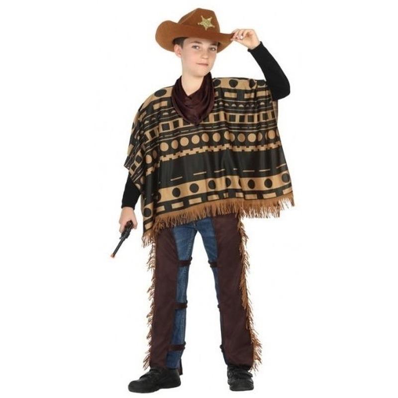 Cowboy-Western pak-verkleed kostuum voor jongens
