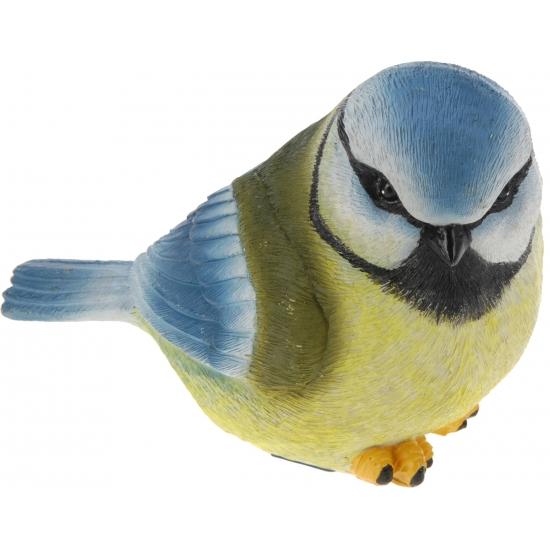 Decoratie vogeltje Pimpelmeesje
