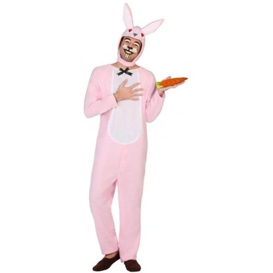 Dierenpak verkleed kostuum paashaas-konijn voor volwassenen