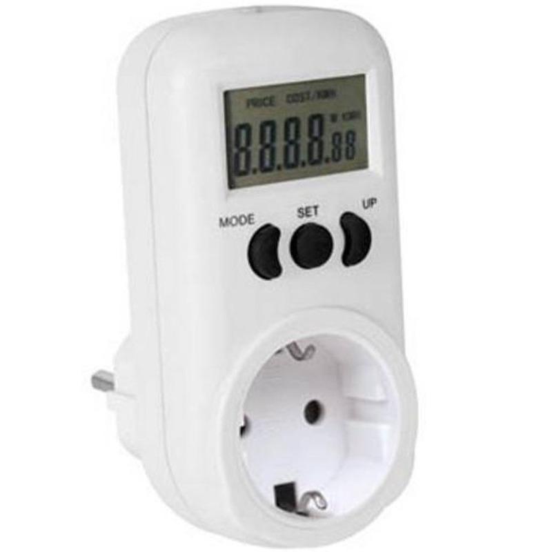 Digitale energiemeter tot maximaal 3600 watt