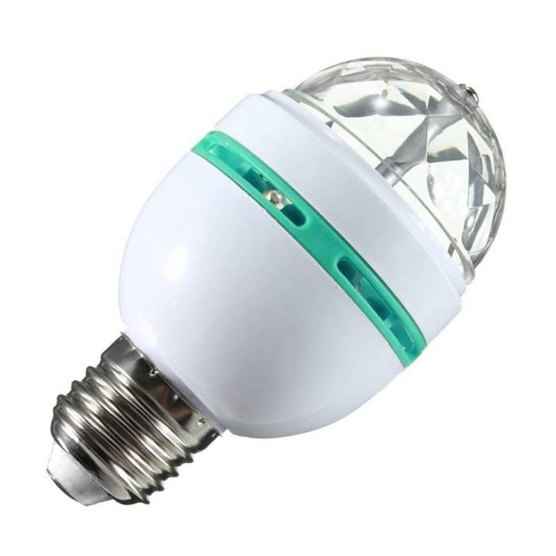 Disco lamp-licht E27 fitting 30 kleuren