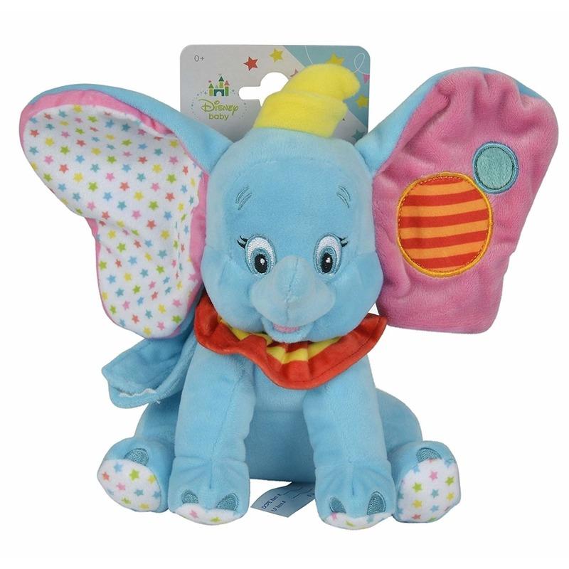 Disney pluche Dombo muziek knuffel 20 cm