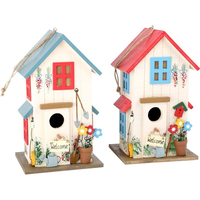 Tuin artikelen Capshopper Duo vogelhuisjes