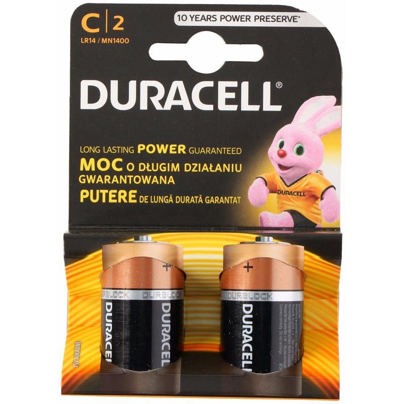 Duracell batterijen CR-LR14 2 stuks