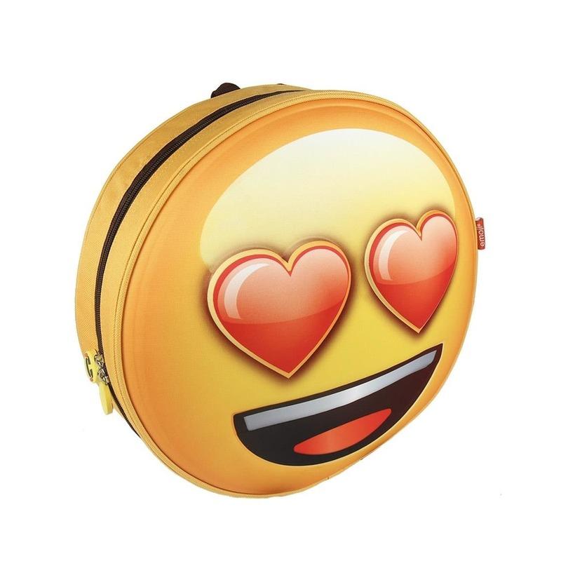 b07eb0fadfd Emoji 3D rugtas liefde emoticon voor kinderen