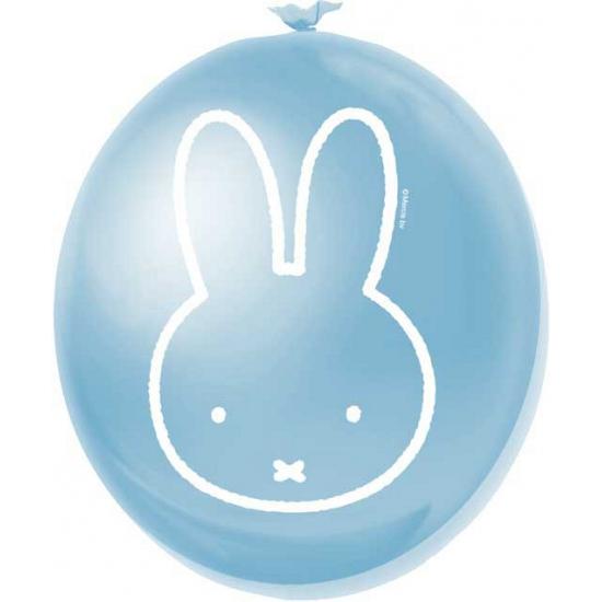 Feestartikelen Nijntje ballonnen blauw