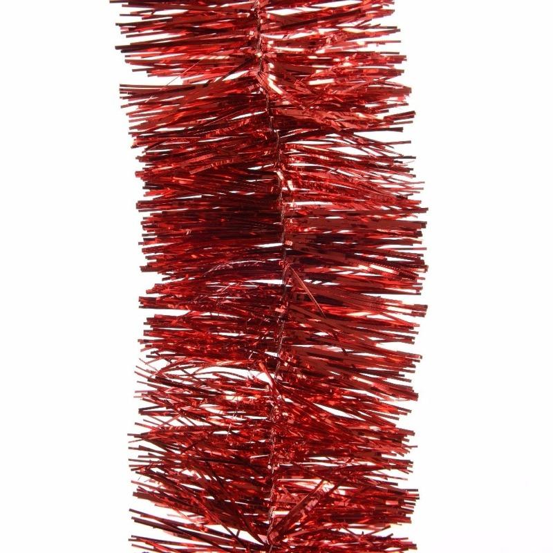 Feestslinger rood folie 7 x 270 cm