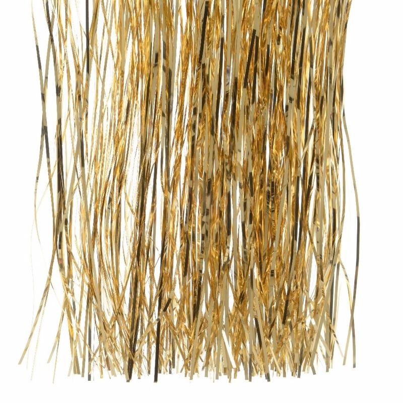 Feestversiering goud folie slierten 50 cm