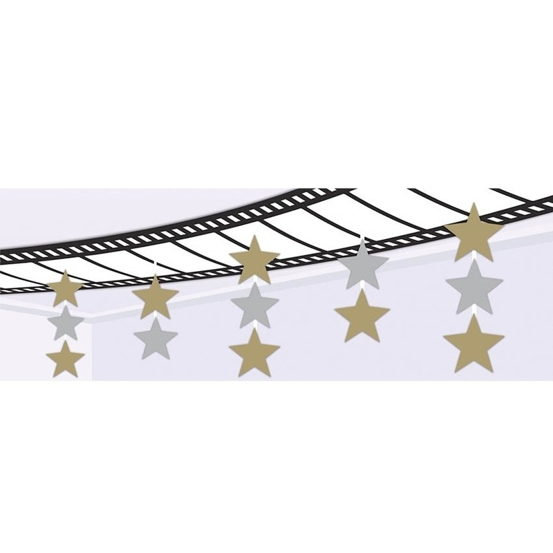 Film thema plafond decoratie 240 x 30 cm