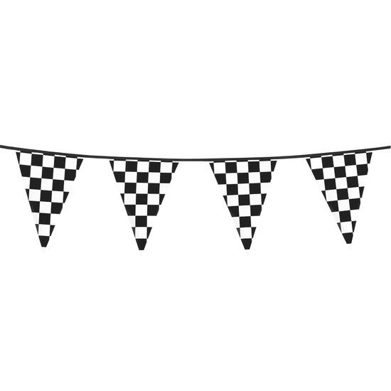Finish feestversiering vlaggenlijn 6 meter