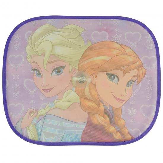 Outdoor Vakantie Frozen Anna en Elsa auto zonneschermen 2 stuks