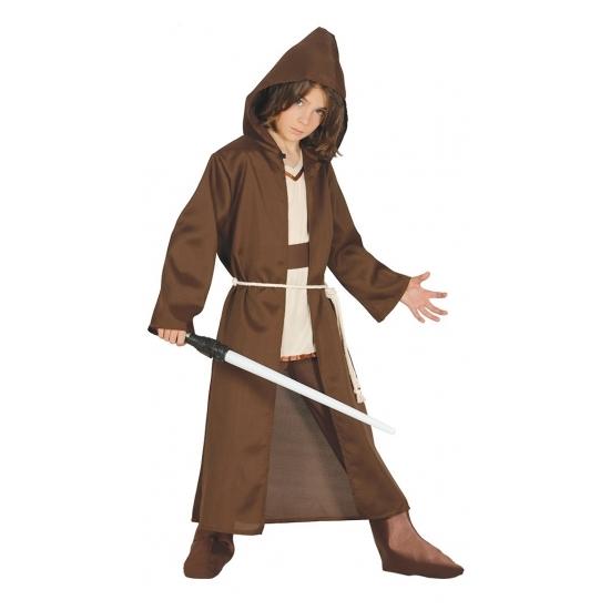 Galaxy meester kostuum bruin voor kinderen