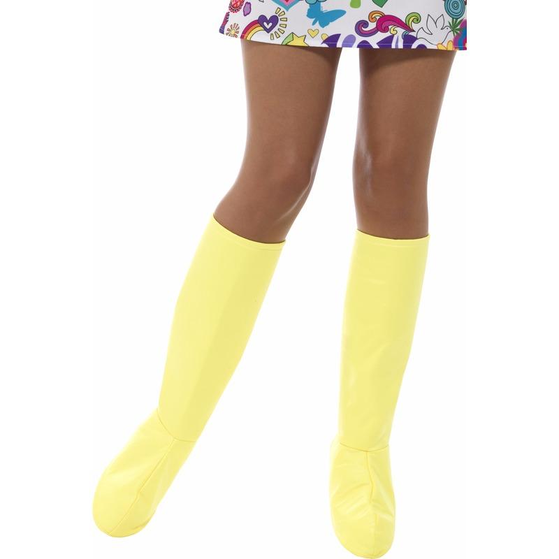 Gele laarshoezen voor dames