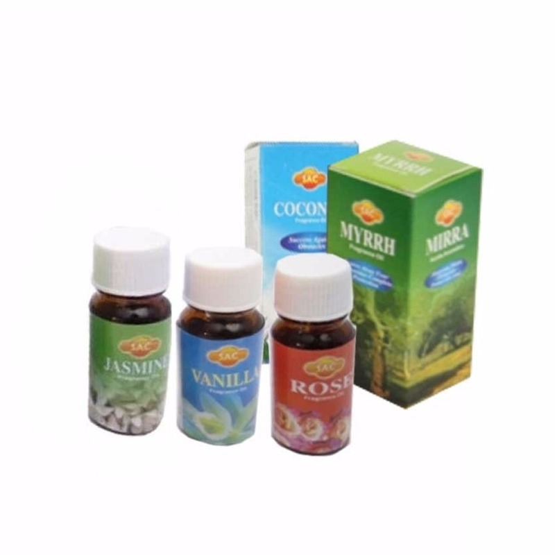Geur olie pakket 5 geuren