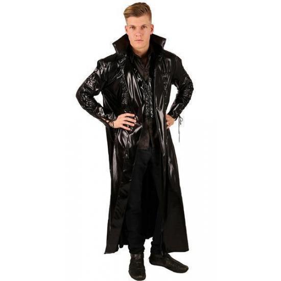 Gothic kostuum voor heren. dit stoere kostuum bestaat uit de volgende artikelen: jas, blouse en gilet....