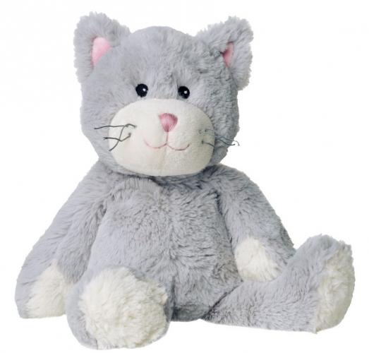 Grijze kat magnetron knuffels