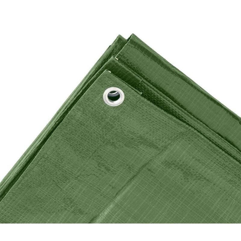 Groen afdekzeil-dekzeil 3 x 4 meter