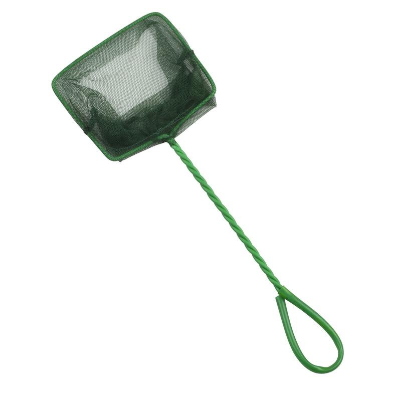 Groen visnet-schepnet 37 cm