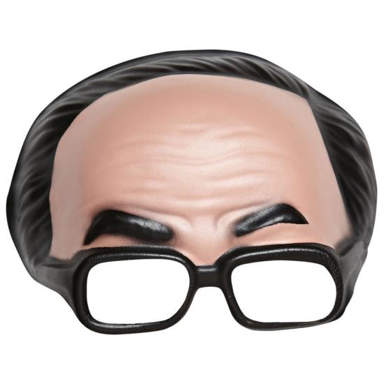 Half heren masker met bril