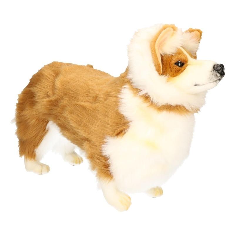 Hansa pluche Corgie honden knuffel 50 cm
